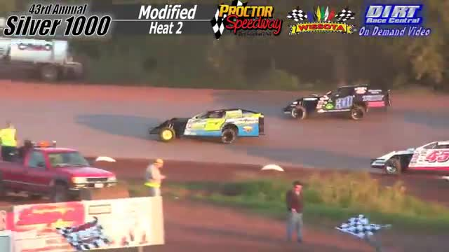 Proctor Speedway September 3, 2015 Silver 1000 Modified Heat Races