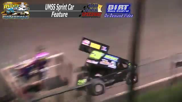 North Central Speedway September 5, 2015 UMSS Sprint Car Races