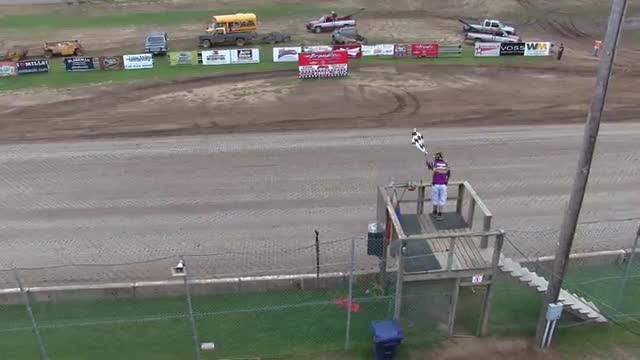 North Central Speedway September 5, 2015 Pure Stock Races