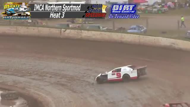 North Central Speedway September 7, 2015 IMCA Northern Sportmod Races