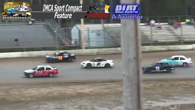 North Central Speedway September 7, 2015 IMCA Sport Compact Races