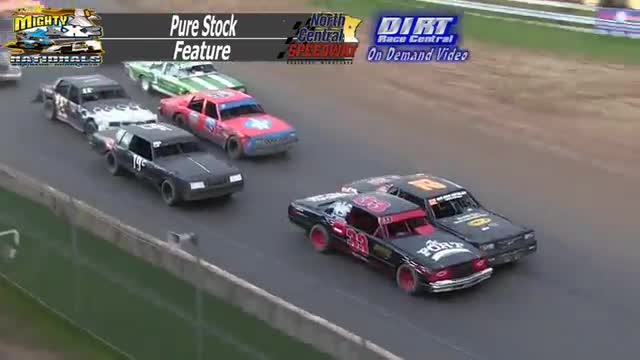 North Central Speedway September 7, 2015 Pure Stock Races