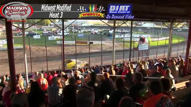 Madison Speedway September 3, 2015 WISSOTA Midwest Modified Races