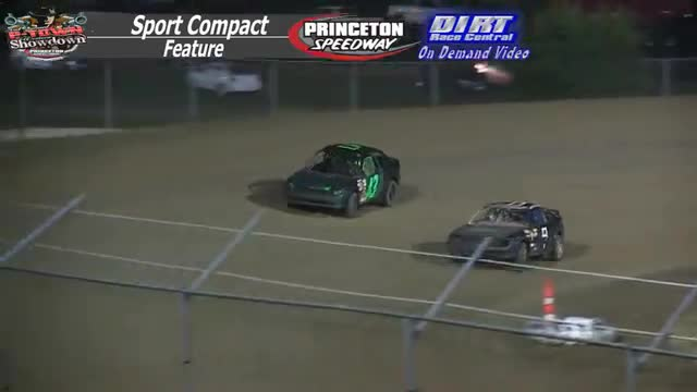Princeton Speedway September 25, 2015 IMCA Sport Compact Feature Race
