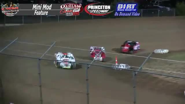 Princeton Speedway September 25, 2015 Outlaw Mini Mod Feature Race