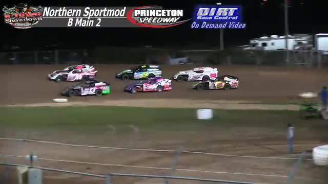 Princeton Speedway September 25, 2015 IMCA Northern Sportmod B-Mains