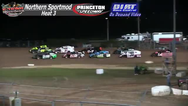 Princeton Speedway September 25, 2015 IMCA Northern Sportmod Heat Races