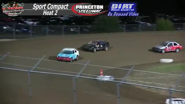 Princeton Speedway September 25, 2015 IMCA Sport Compact Heat Races