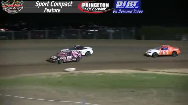Princeton Speedway September 26, 2015 IMCA Sport Compact Feature Race