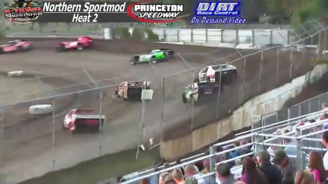 Princeton Speedway September 26, 2015 IMCA Northern Sportmod Heat Races