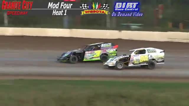Granite City Speedway September 27, 2015 WISSOTA Mod Four Heat Race