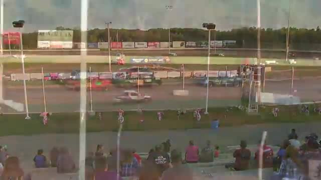 Granite City Speedway September 27, 2015 WISSOTA Hornet Heat Races