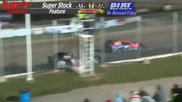 Granite City Speedway October 3, 2015 WISSOTA Super Stock Feature Race