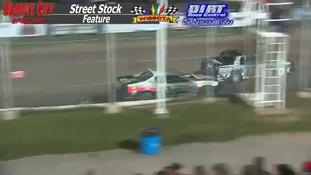 Granite City Speedway October 3, 2015 WISSOTA Street Stock Feature Race