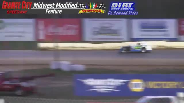 Granite City Speedway October 4, 2015 WISSOTA Midwest Modified Feature Race