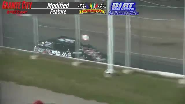 Granite City Speedway October 4, 2015 WISSOTA Modified Feature Race