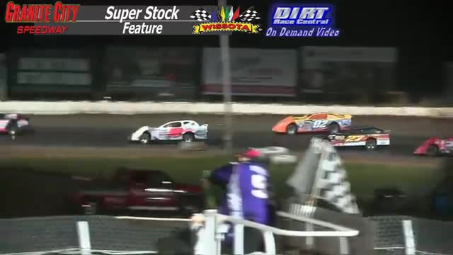 Granite City Speedway October 4, 2015 WISSOTA Super Stock Feature Race