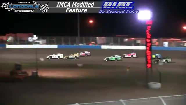 Longdale Speedway October 10, 2015 IMCA Modified Feature Race