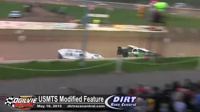 Ogilvie Raceway 5/16/16 USMTS Modified Feature Race