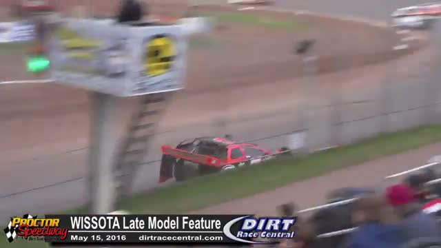 Proctor Speedway 5/15/16 WISSOTA Late Model Races
