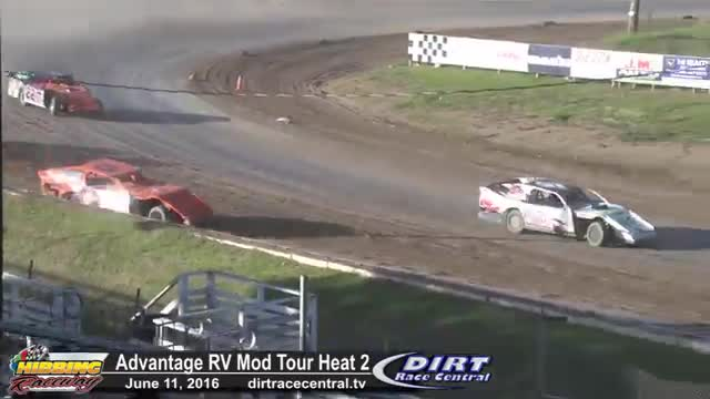 Hibbing Raceway 6/11/16 Advantage RV Mod Tour Heat Races
