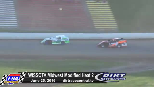 I-94 Speedway 6/25/16 WISSOTA Midwest Modified Heats