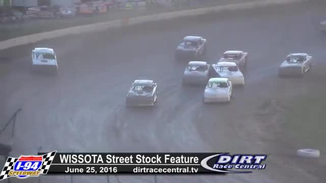 I-94 Speedway 6/25/16 WISSOTA Street Stock Races