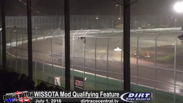Amsoil Speedway 7/1/16 WISSOTA Modified Qualifiying Feature Race