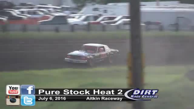 Aitkin Raceway 7/8/16 Pure Stock Races