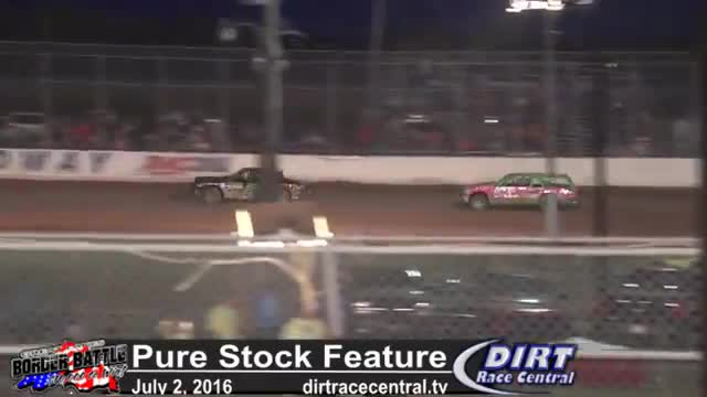 Amsoil Speedway 7/2/16 Pure Stock Feature Race
