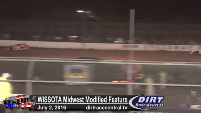 Amsoil Speedway 7/2/16 WISSOTA Midwest Modified Feature Race