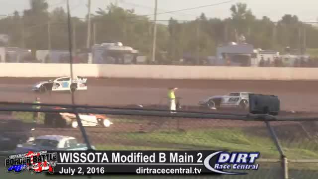 Amsoil Speedway 7/2/16 WISSOTA Modified B Mains