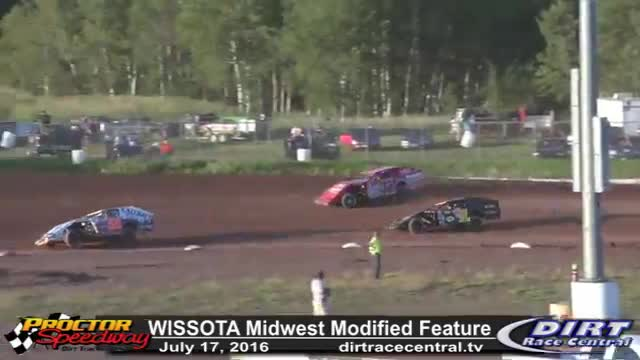Proctor Speedway 7/17/16 WISSOTA Midwest Modified Feature Race