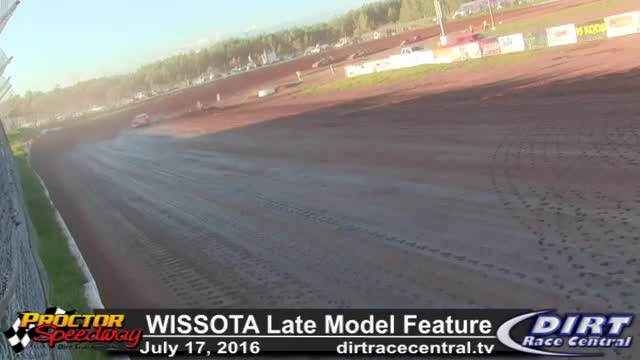 Proctor Speedway 7/17/16 WISSOTA Late Model Feature Race