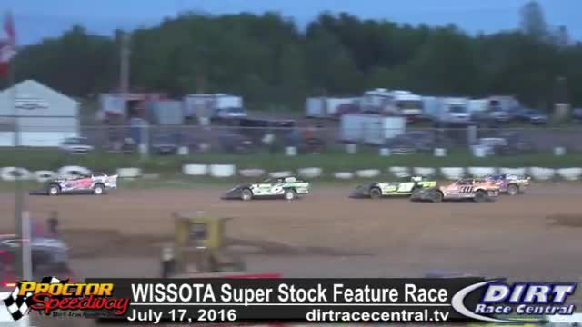 Proctor Speedway 7/17/16 WISSOTA Super Stock Feature Race
