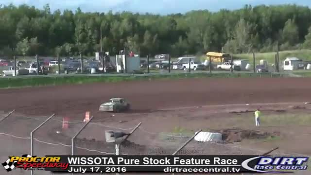 Proctor Speedway 7/17/16 WISSOTA Pure Stock Feature Race