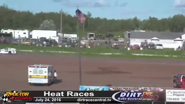 Proctor Speedway 7/24/16 Heat Races All Classes