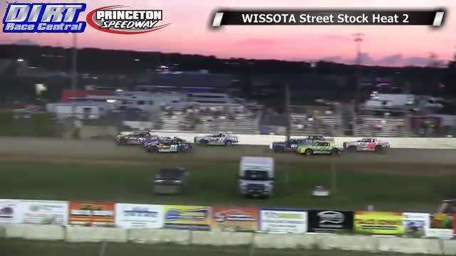 Princeton Speedway 6/20/14 WISSOTA Street Stock Races
