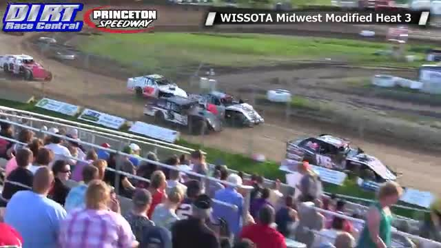Princeton Speedway 6/20/14 WISSOTA Midwest Modified Races