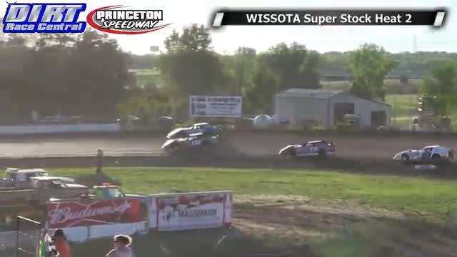Princeton Speedway 6/20/14 WISSOTA Super Stock Races