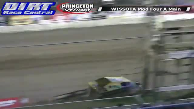 Princeton Speedway 5/23/14 WISSOTA Mod Four Races