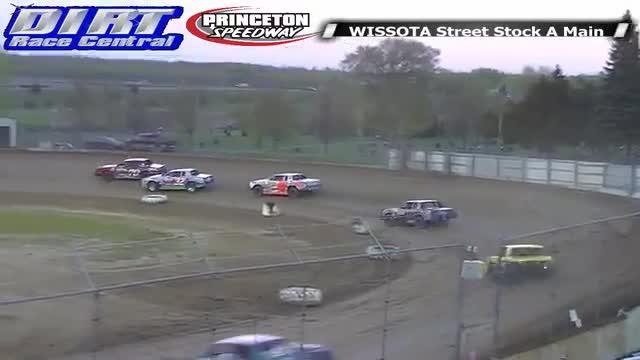 Princeton Speedway 5/23/14 WISSOTA Street Stock Races