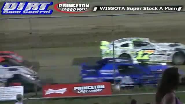 Princeton Speedway 5/23/14 WISSOTA Super Stock Races