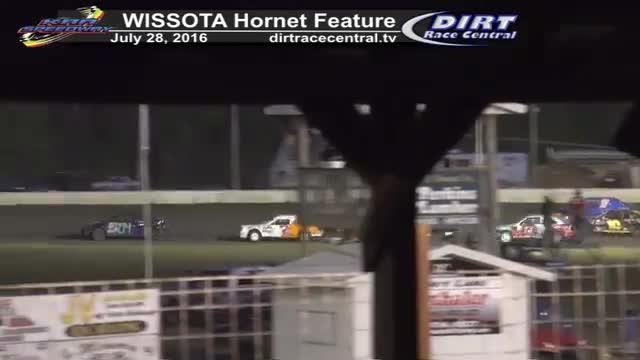 KRA Speedway 7/28/16 WISSOTA Hornet Feature Race