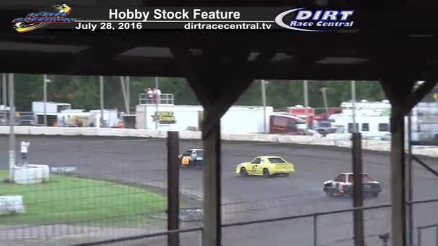KRA Speedway 7/28/16 Hobby Stock Feature Race