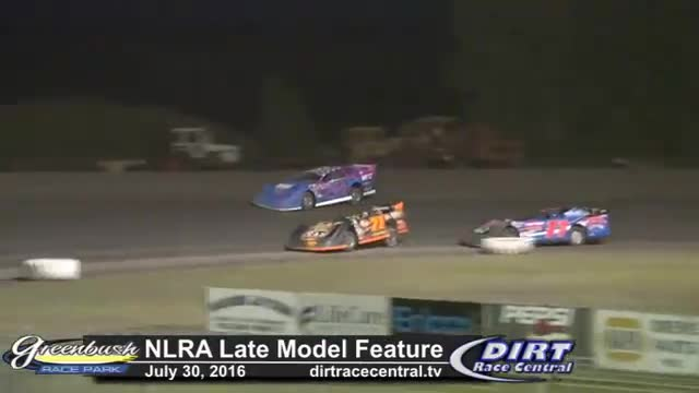 Greenbush Race Park 7/30/16 NLRA Late Model Feature Race