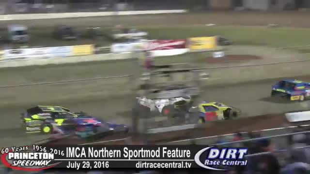 Princeton Speedway 7/29/16 IMCA Northern Sportmod Feature Race