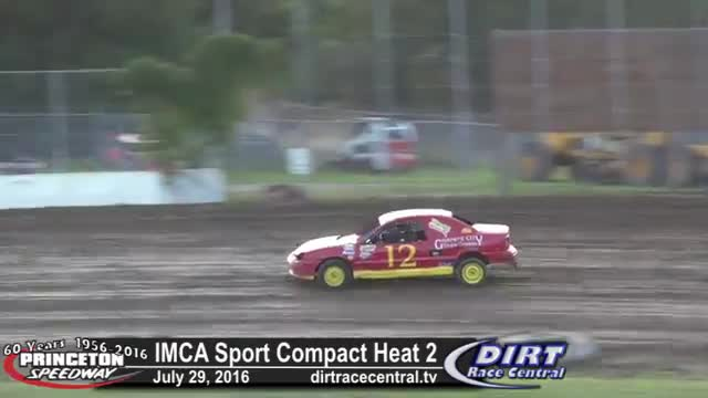 Princeton Speedway 7/29/16 IMCA Sport Compact Races