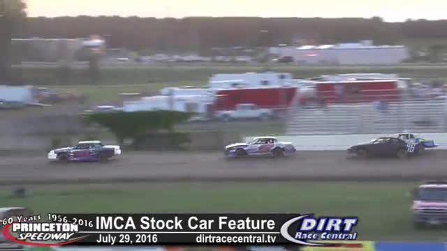 Princeton Speedway 7/29/16 IMCA Stock Car Races