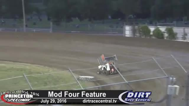 Princeton Speedway 7/29/16 UMSS Micro Sprint Car Races